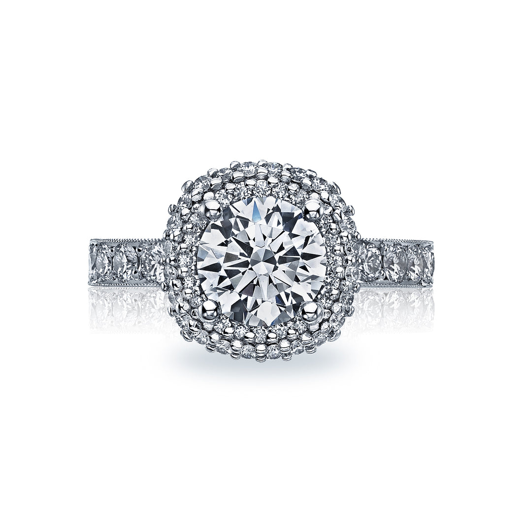 Tacori Blooming Beauties Round Diamond Engagement Ring (0.85 CTW)