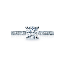 Load image into Gallery viewer, Tacori Sculpted Crescent Round Diamond Engagement Ring (0.16 CTW)