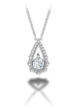 Load image into Gallery viewer, Forevermark Drop Necklace (1 CTW)