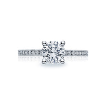 Load image into Gallery viewer, Tacori Sculpted Crescent Round Diamond Engagement Ring (0.19 CTW)