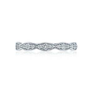 Tacori Sculpted Crescent Diamond Wedding Band (0.3 CTW)