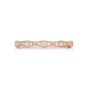 Tacori Sculpted Crescent Diamond Wedding Band (0.33 CTW)