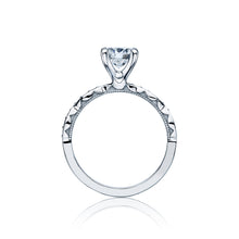 Load image into Gallery viewer, Tacori Sculpted Crescent Round Diamond Engagement Ring (0.15 CTW)