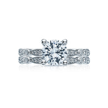 Load image into Gallery viewer, Tacori Sculpted Crescent Round Diamond Engagement Ring (0.17 CTW)