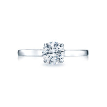 Load image into Gallery viewer, Tacori Sculpted Crescent Round Diamond Engagement Ring (0.5 CTW)