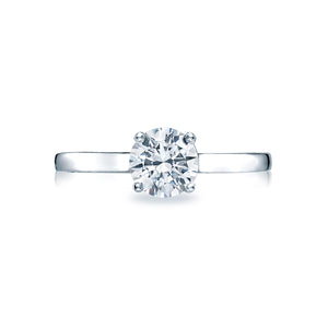 Tacori Sculpted Crescent Round Diamond Engagement Ring (0.5 CTW)
