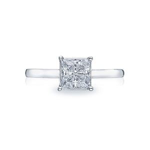 Tacori Sculpted Crescent Princess Diamond Engagement Ring (0.5 CTW)