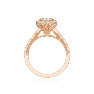 Tacori Full Bloom Round Diamond Engagement Ring (0.31 CTW)