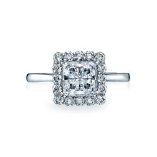 Load image into Gallery viewer, Tacori Full Bloom Princess Diamond Engagement Ring (0.51 CTW)