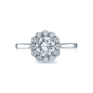 Tacori Full Bloom Round Diamond Engagement Ring (0.42 CTW)