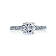 Load image into Gallery viewer, Tacori Sculpted Crescent Round Diamond Engagement Ring (0.1 CTW)