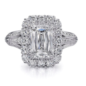 Christopher Designs Crisscut Engagement Ring (0.98 CTW)