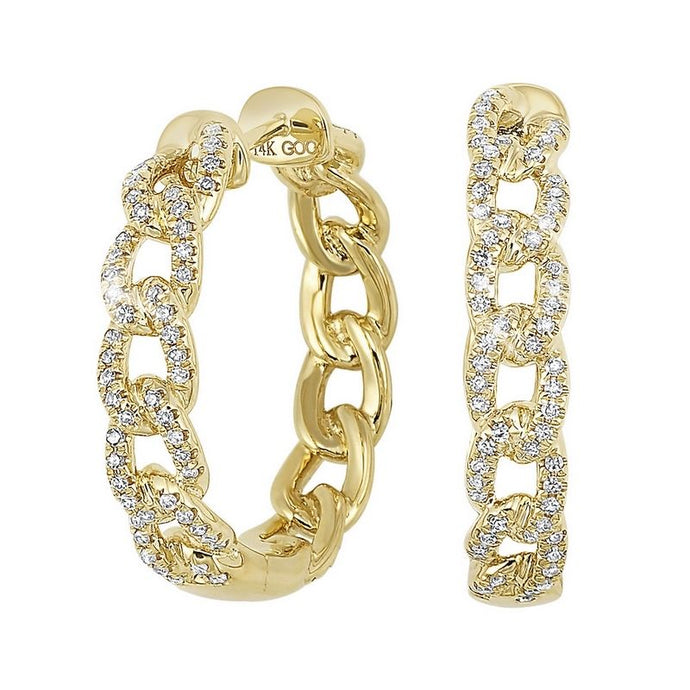 14K Diamond Earrings (.50 CTW)