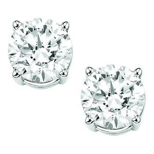 14K Diamond Studs (.50 ctw)