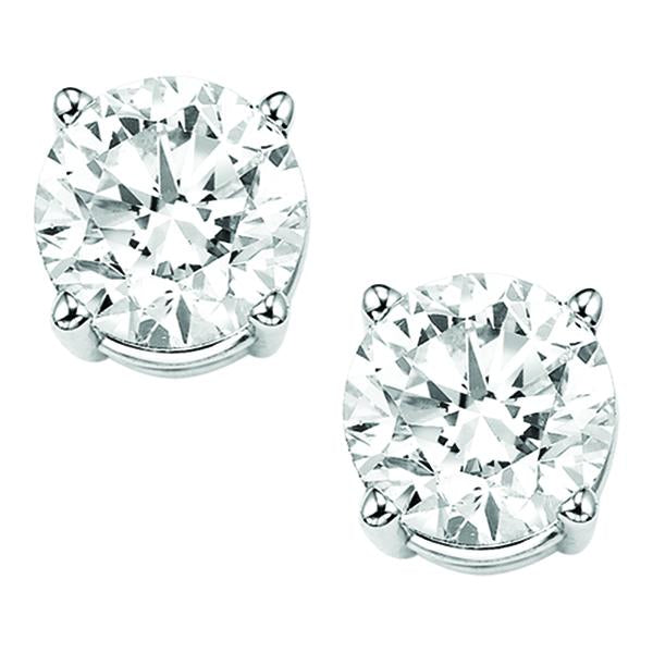 14K Diamond Studs (2.00 ctw)