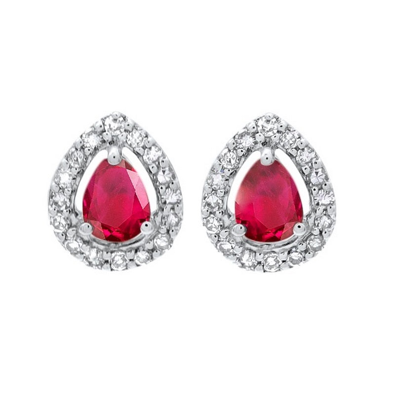 10kw color ens prong ruby earrings 1/250ct, fr1070-4pd