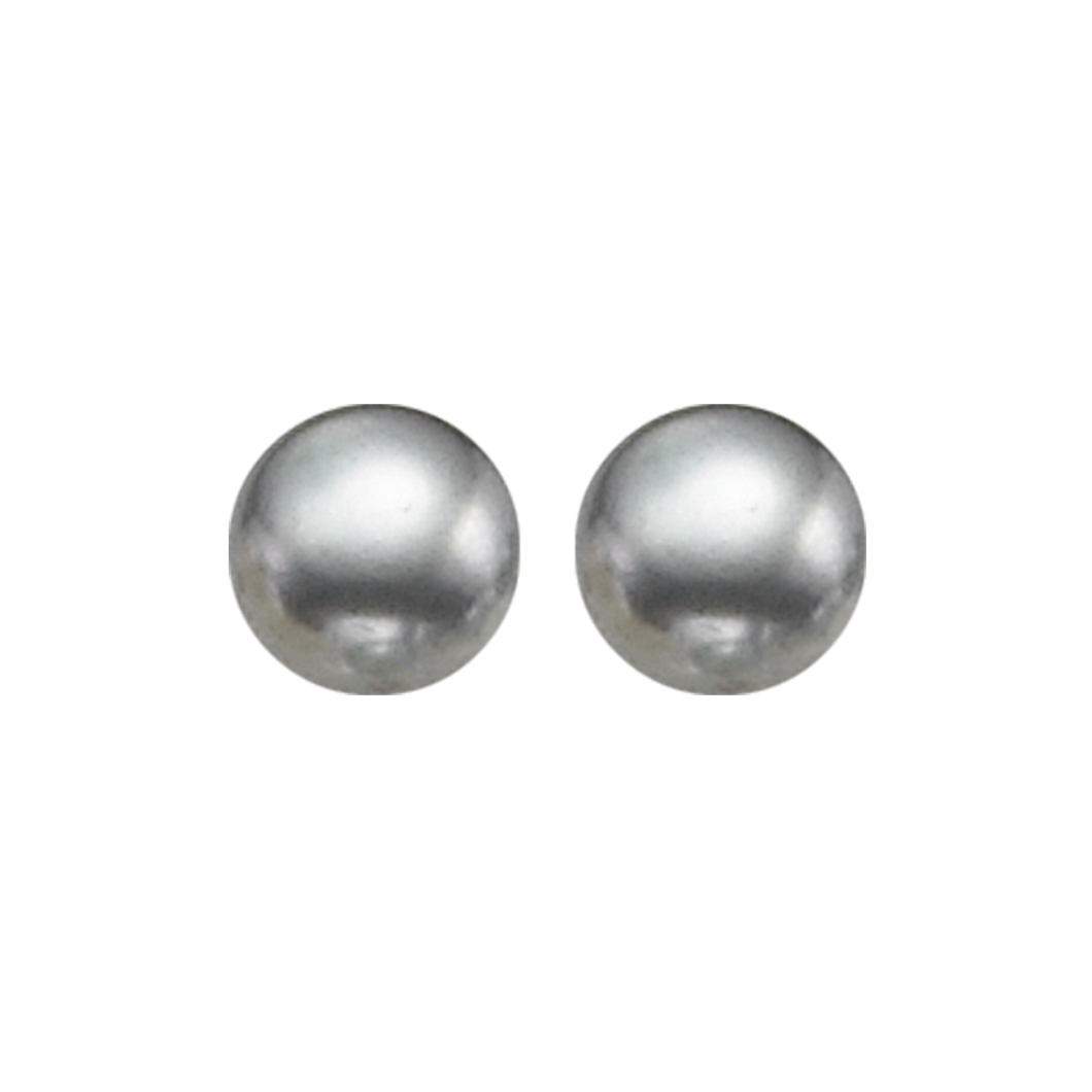 ss cultured pearl earrings, er10319-4wbr
