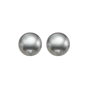 ss cultured pearl earrings, er10319-4wb