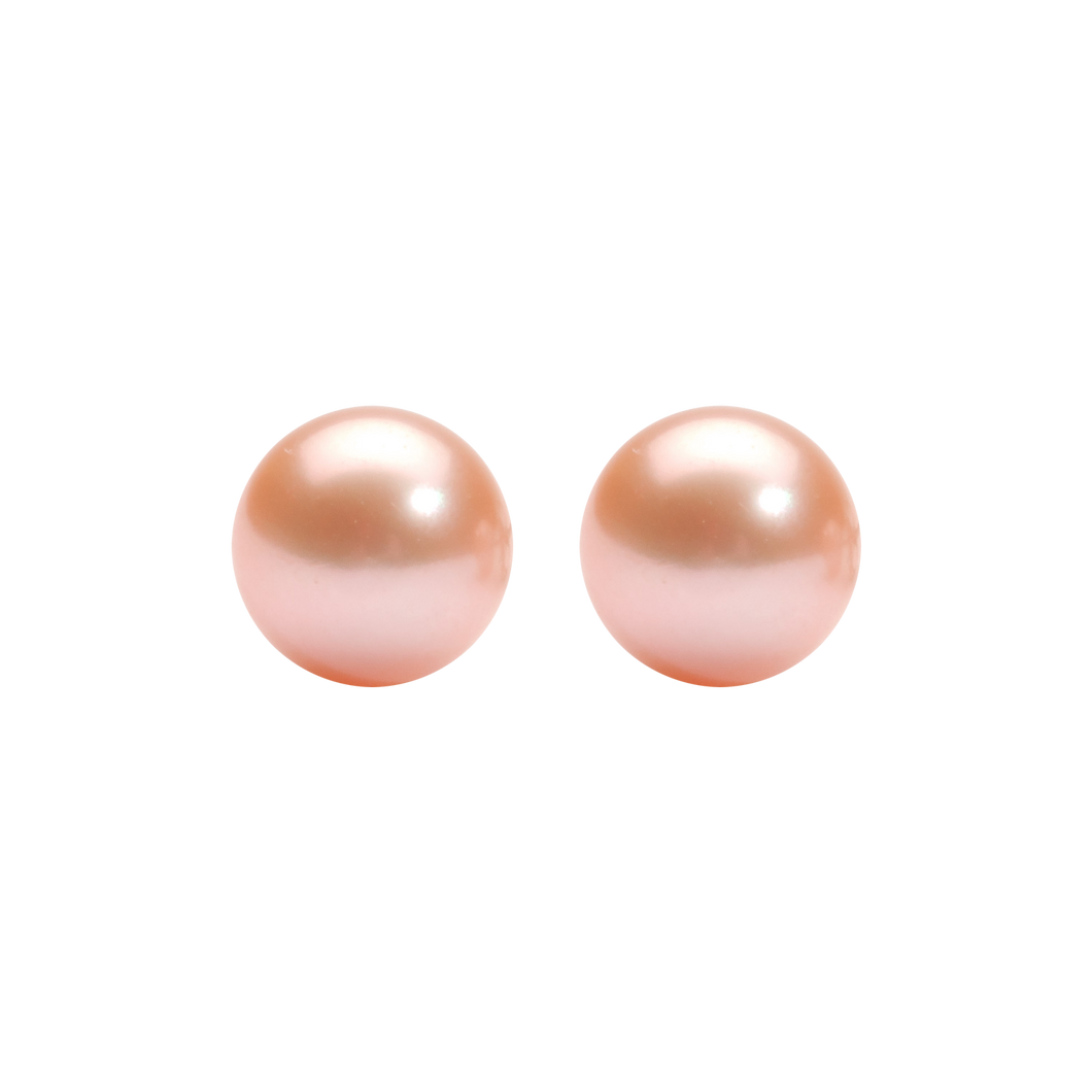 ss cultured pearl earrings, fr1039-1pd