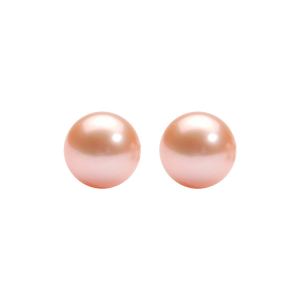 ss cultured pearl earrings, fr1262-1wd