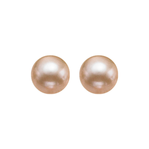 ss cultured pearl earrings, fr1208-1pd
