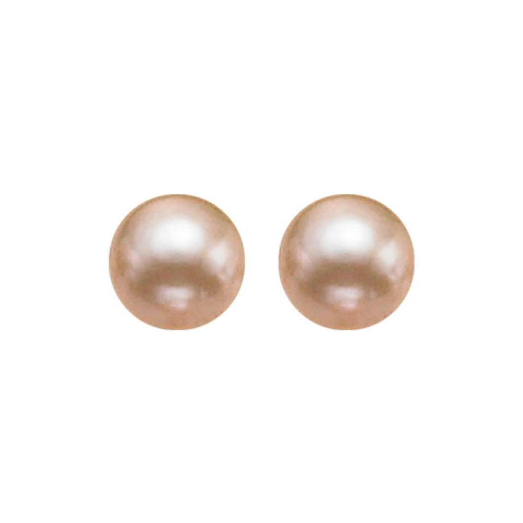 ss cultured pearl earrings, fr1232-4wd