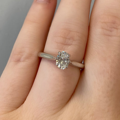 Complete Oval Engagement Ring