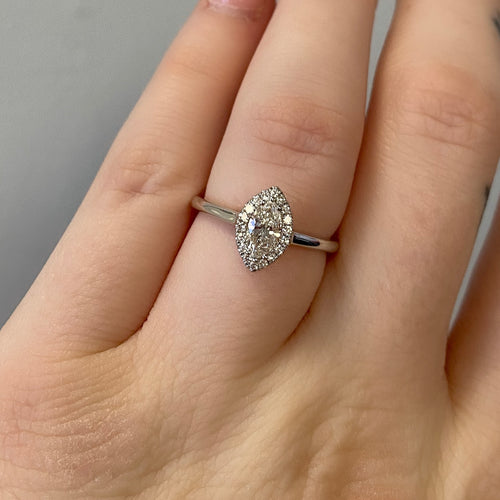 Complete Marquise Engagement Ring