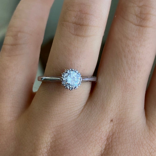 Complete Tacori Solitaire Engagement Ring