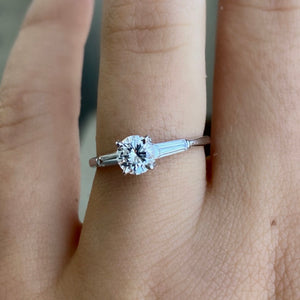 Complete Three Stone Engagement Ring