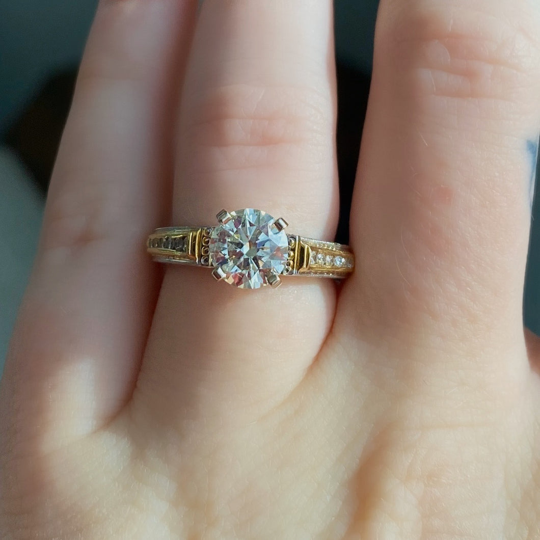 Complete Round Brilliant Engagement Ring