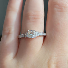 Load image into Gallery viewer, Complete Radiant Cut Engagement Ring