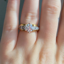 Load image into Gallery viewer, Complete Round Brilliant Two Tone Engagement Ring