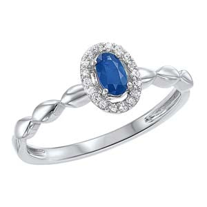 10kw color ens prong sapphire ring 1/15ct, fr1036-1yd
