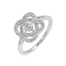 Load image into Gallery viewer, 14K Love's Crossing Diamond Ring (1 CTW)