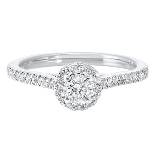 14kw c&c shared prong diamond ring 1/2ct, rg10277-4wd