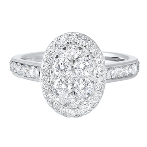 14kw c&c micro prong diamond ring 1 1/6ct, wb6101ir-4wc