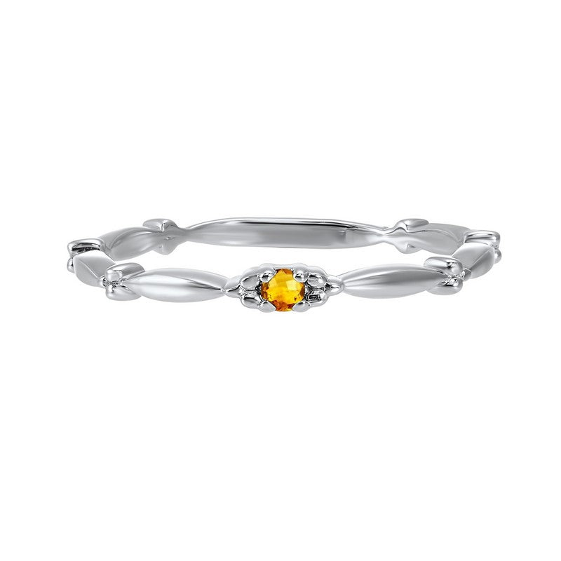 10kw mix prong citrine band, rg71430-4wc