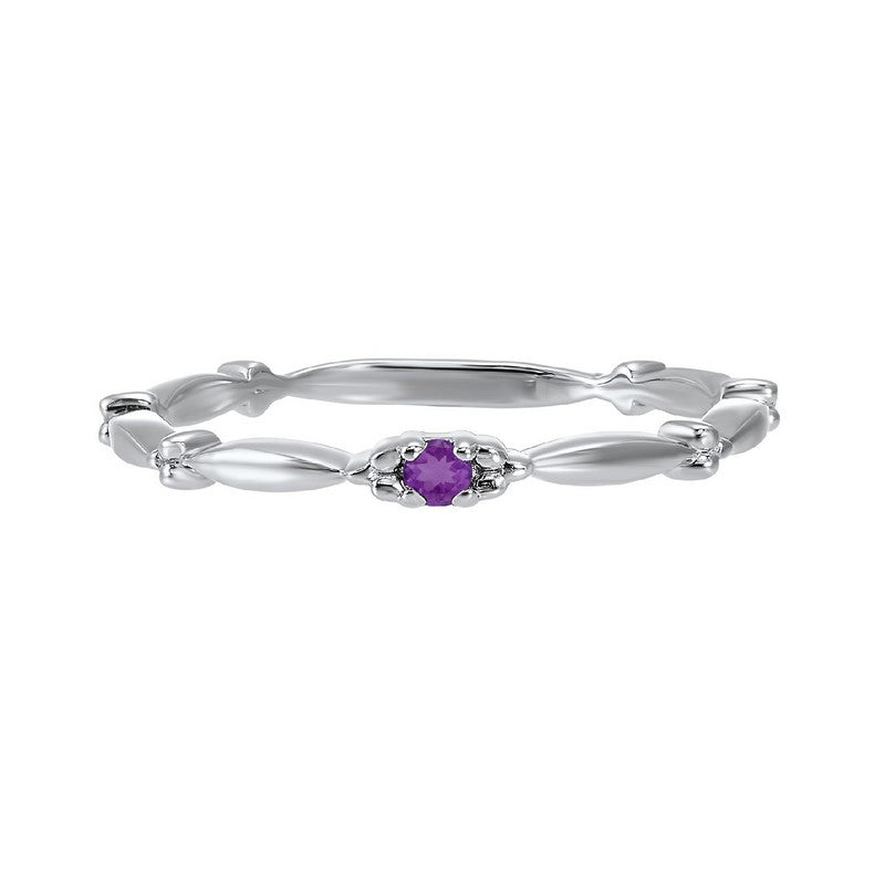 10kw mix prong amethyst band, rg71757-4wc