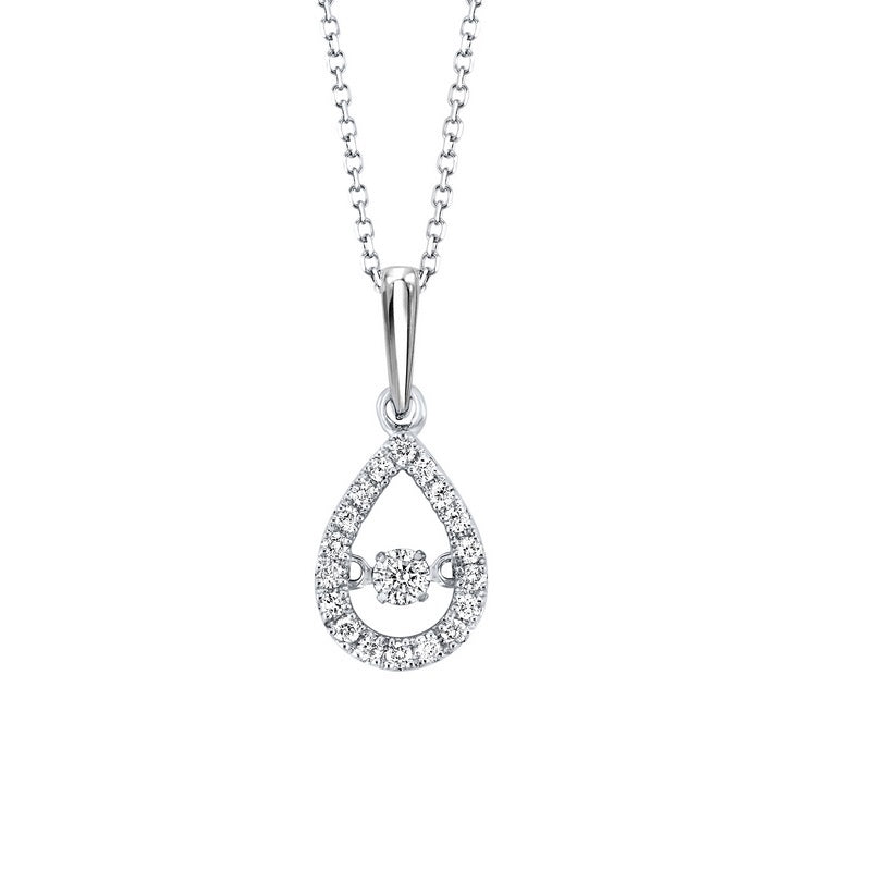 10kw rol prong diamond necklace 1/5ct, rg10057-4yd