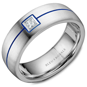 Bleu Royale Mens Band RYL-027WD75