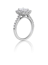 Load image into Gallery viewer, Henri Daussi Cushion Collection Diamond Ring (1.00 CTW)