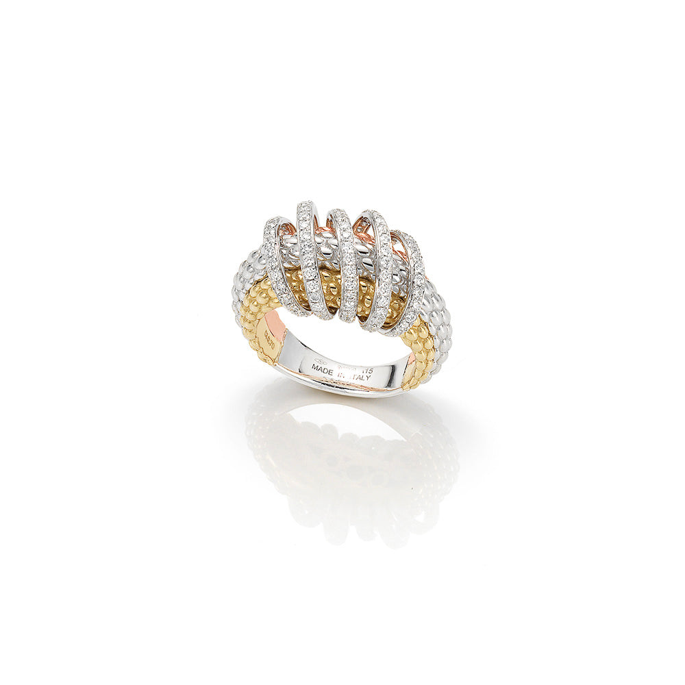 Fope MIA LUCE Diamond Ring (0.70 CTW)