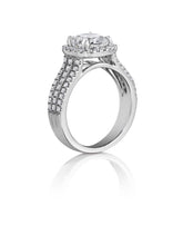 Load image into Gallery viewer, Henri Daussi Cushion Collection Diamond Ring (0.60 CTW)