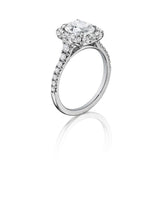 Load image into Gallery viewer, Henri Daussi Cushion Collection Diamond Ring (0.80 CTW)