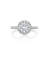Load image into Gallery viewer, Henri Daussi Daussi Brilliant Collection Diamond Ring (0.30 CTW)