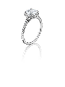 Henri Daussi Daussi Brilliant Collection Diamond Ring (0.30 CTW)