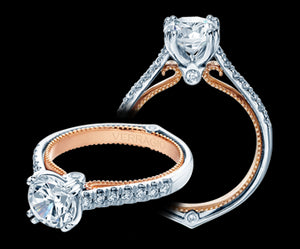 Verragio Couture Round Diamond Engagement Ring (0.30 CTW)