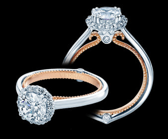 Verragio Couture Round Diamond Engagement Ring (0.20 CTW)
