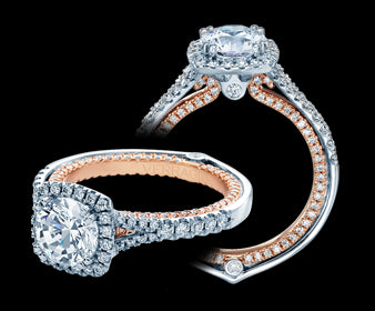 Verragio Couture Round Diamond Engagement Ring (0.70 CTW)